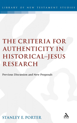 The Criteria for Authenticity in Historical-Jesus Research
