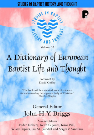 Dictionary Of European Baptist Life Pb