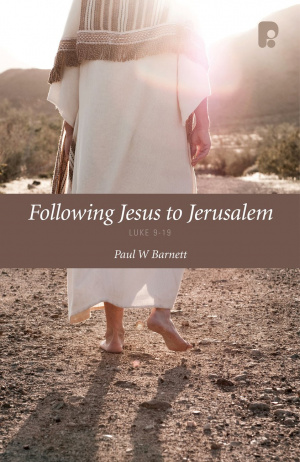 Following Jesus To Jerusalem Pb