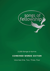 Songs of Fellowship Words Combined - Vol 1 - 4