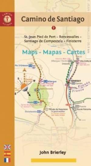 Camino de Santiago Maps - Mapas - Cartes