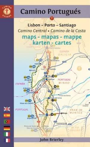 Camino Portugues Maps - Mapas - Mappe - Karten - Cartes