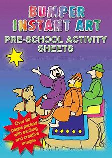 Bumper Instant Art: Pre School Activity Sheets