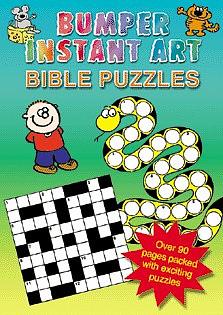 Bumper Instant Art: Bible Puzzles