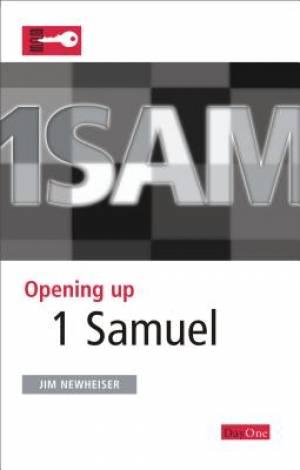 Opening Up 1 Samuel