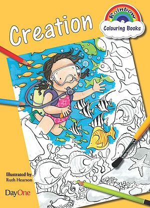 Creation Colouring Book