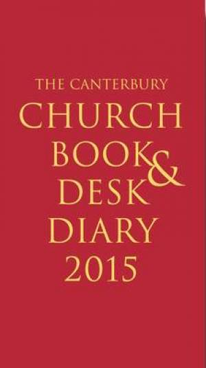 The Canterbury Church Book and Desk Diary Personal Organiser 2015
