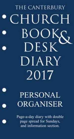 The Canterbury Church Book and Desk Diary 2017