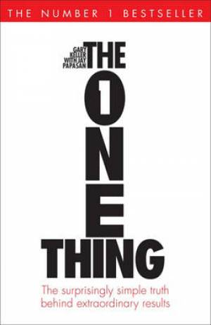 The One Thing Paperback Book