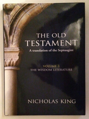 The Old Testament Volume 3 - The Wisdom Literature [hardback]