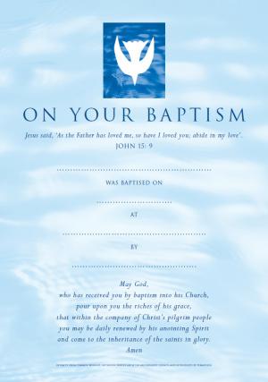 CW CERT. BAPTISM CONT.PK10