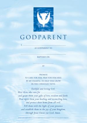 CW GODPARENT CARD-BOY-CONT.PK10