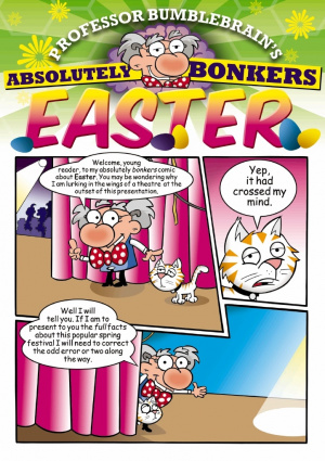 Professor Bumblebrains Easter Comic - Pack of 10