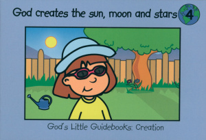 God creates the sun, moon and stars # 4
