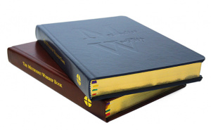 Methodist Worship Book: Presentation Edition Blue Leather