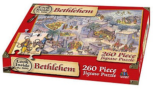 Look Inside Bethlehem Jigsaw