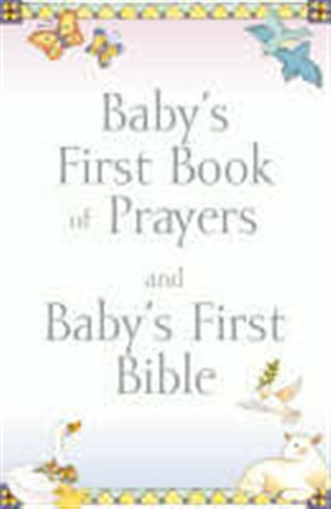 Baby's First Book of Prayers/Bible Gift Set