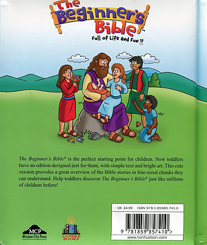 Beginners Bible For Toddlers Hardback