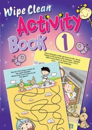 Wipe Clean Activity Book 1
