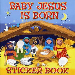 Baby Jesus is Born Sticker Book