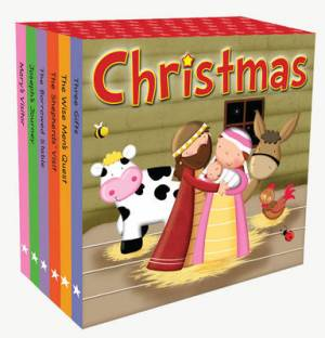 Christmas Board Book Mini-Library