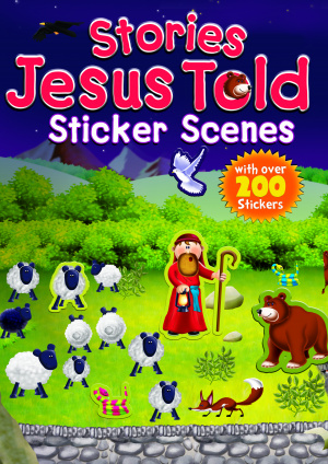 Stories Jesus Told: Sticker Scenes