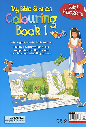 My Bible Stories Colouring Book 1 Paperback