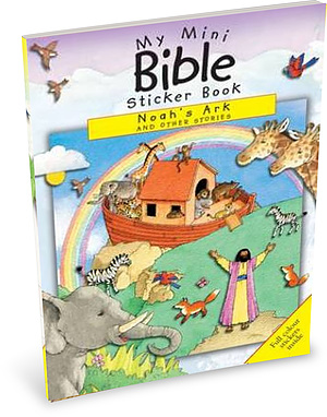 My Mini Bible Sticker Book: Noah's Ark and Other Stories
