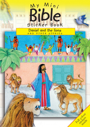 My Mini Bible Sticker Book: Daniel and the Lions