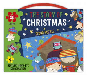 Christmas Floor Puzzle: the Story of Christmas (28 Pieces)