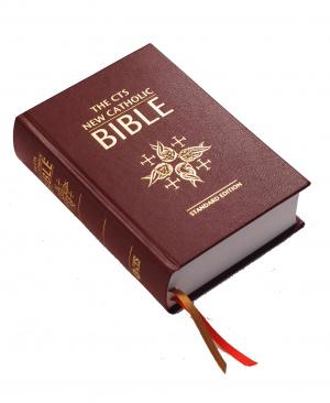 The Catholic Truth Society New Catholic Bible: Brown, Imitation Leather