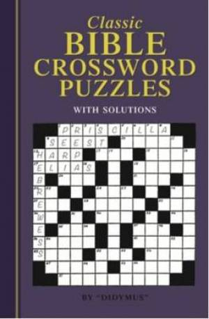 Classic Crossword Book