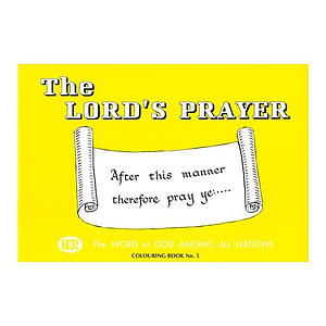 Lord's Prayer Colouring Book