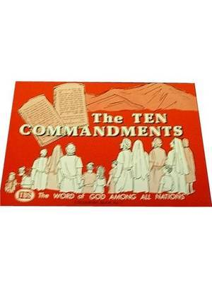 Ten Commandments Colouring Book