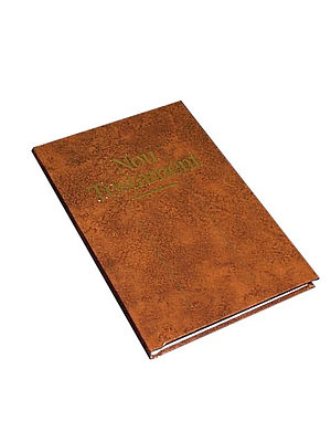 Catalan New Testament: Brown Hardback