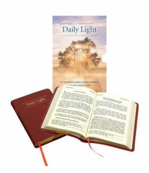 Great KJV Daily Light Devotional: Leather Photo