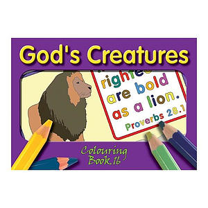Colouring Book - God's Creatures