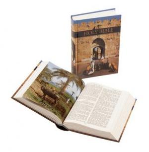 KJV Royal Ruby Bible: Hardback, Illustrated Edition