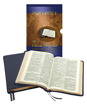 KJV Classic Original Concord Reference Bible: Burgundy, Imitation leather