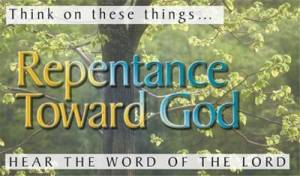 Pack of Tracts - Repentance Toward God (50 Tracts)