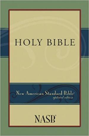 NASB New American Standard Bible Paperback