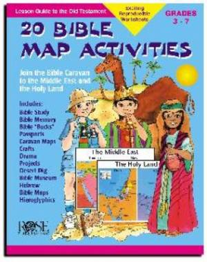 20 Bible Map Activities