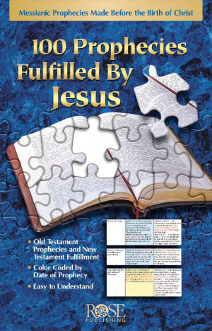 100 Prophecies Fulfilled By Jesus Pamphlet
