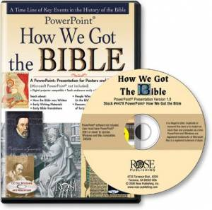 How We Got The Bible CDRom