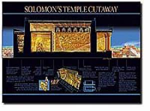 Solomons Temple Cut Away   20x26