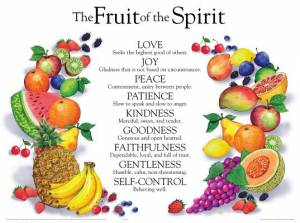 Fruit Of The Spirit        20x26
