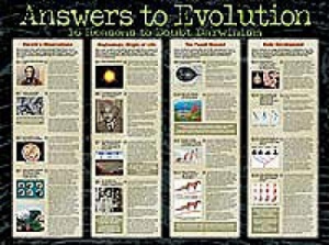 Answers To Evolution (Laminated)      20X26