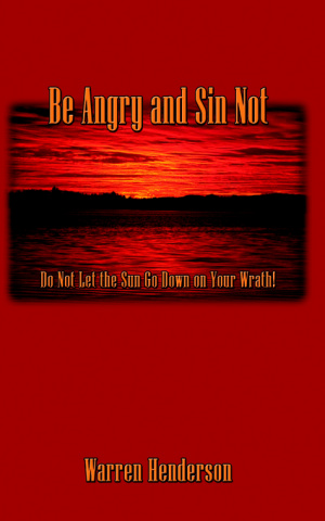 Be Angry And Sin Not Pb
