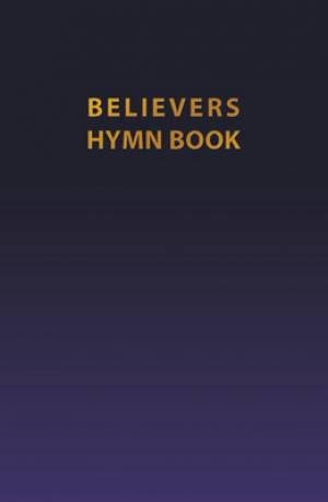 Believers Hymn Book Navy Flexi Cover Ed