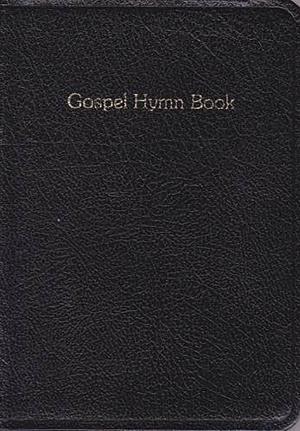 Gospel Hymn Book Blk Lth